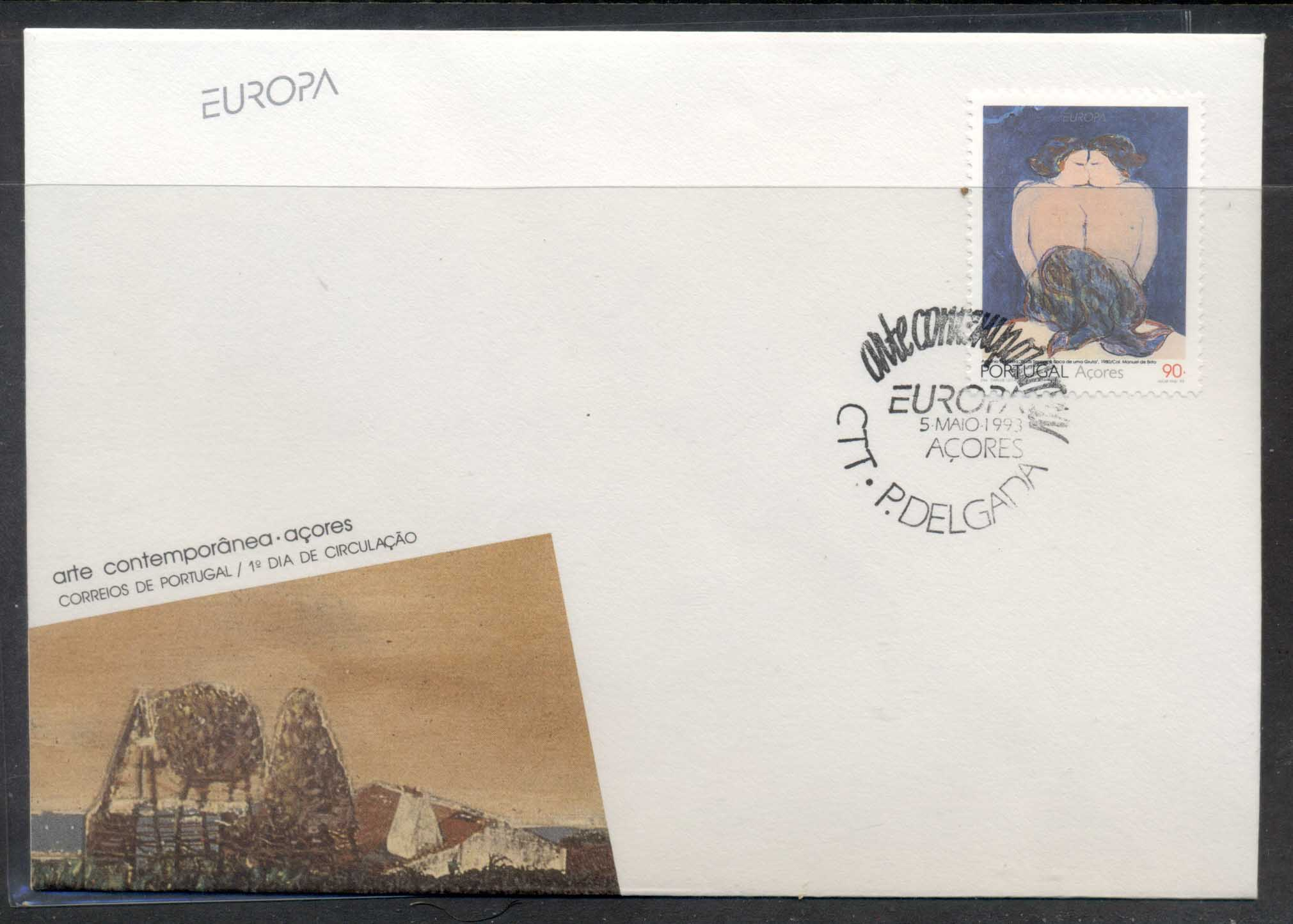 Azores 1993 Europa Modern Art FDC - Click Image to Close