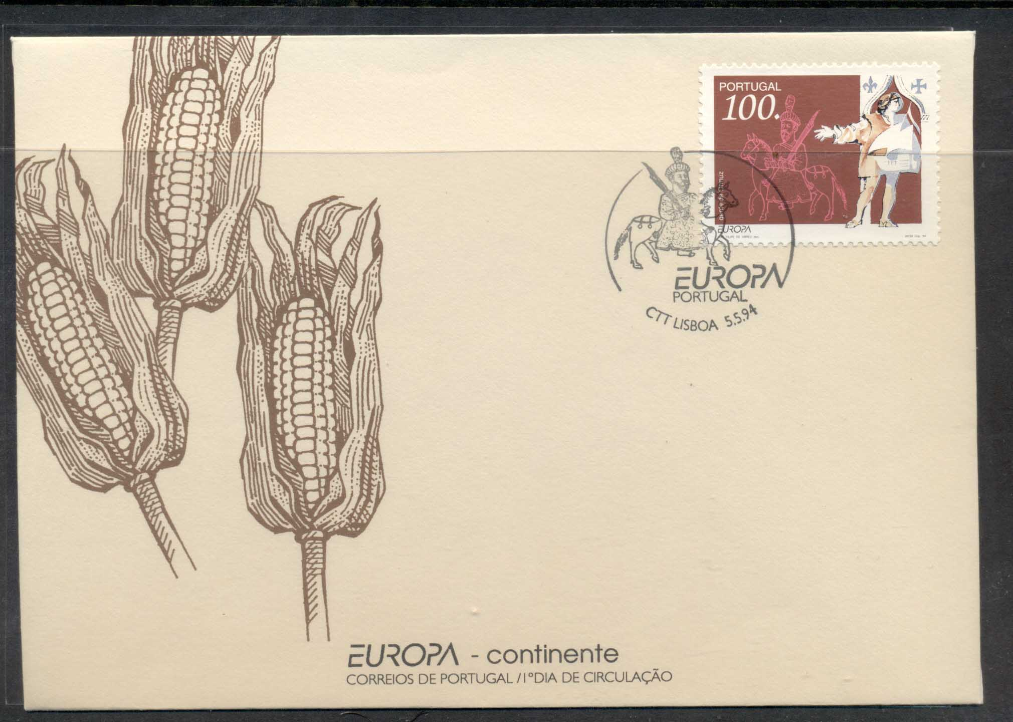 Portugal 1994 Europa Scientific Discoveries FDC