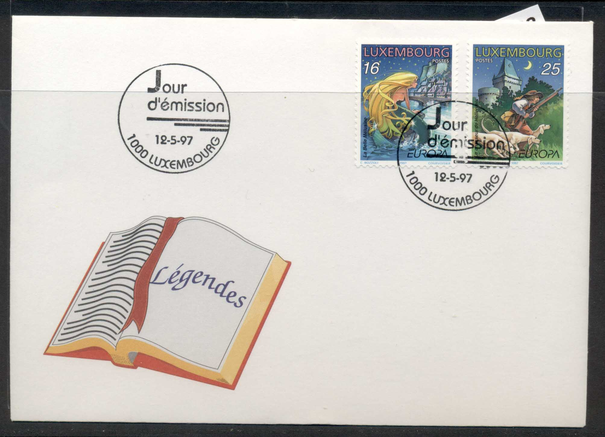 Luxembourg 1997 Europa Myths & Legends FDC