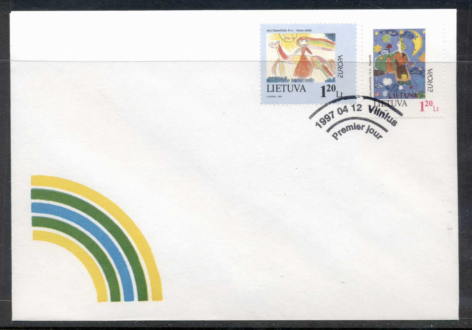 Lithuania 1997 Europa Myths & legends FDC