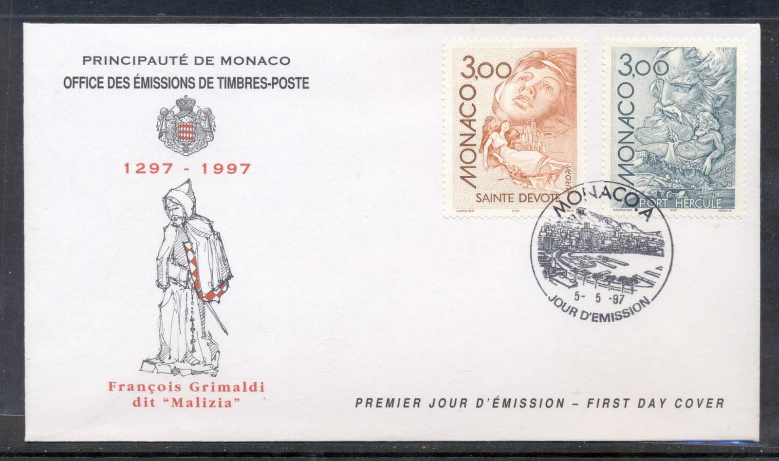 Monaco 1997 Europa Myths & legends FDC