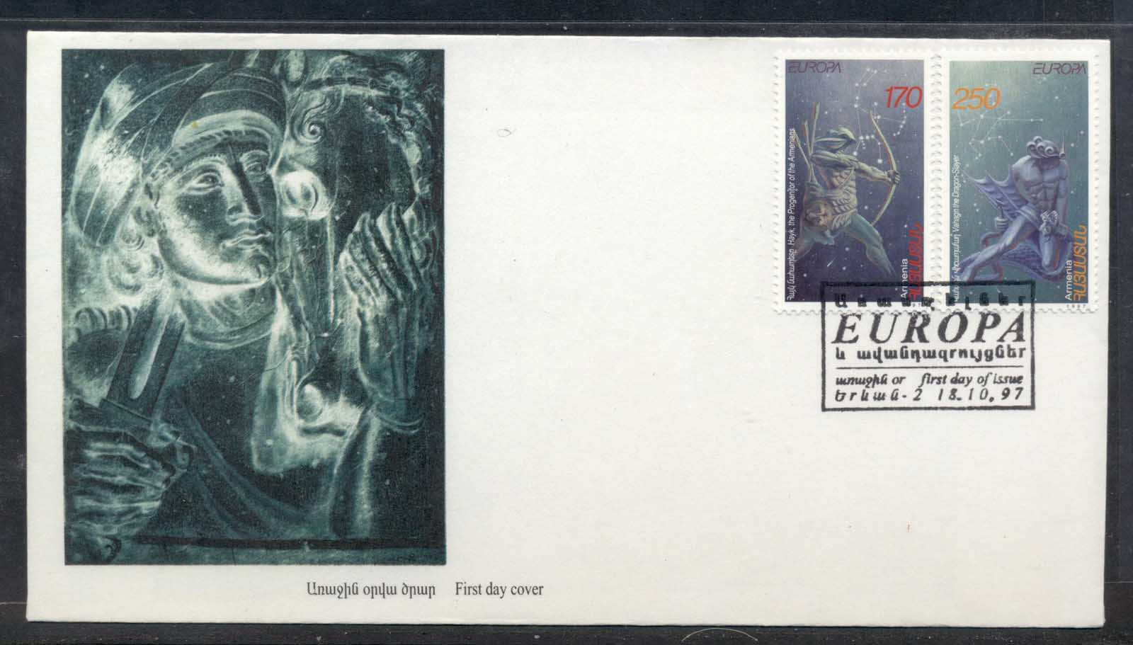Armenia 1997 Europa Myths & legends FDC