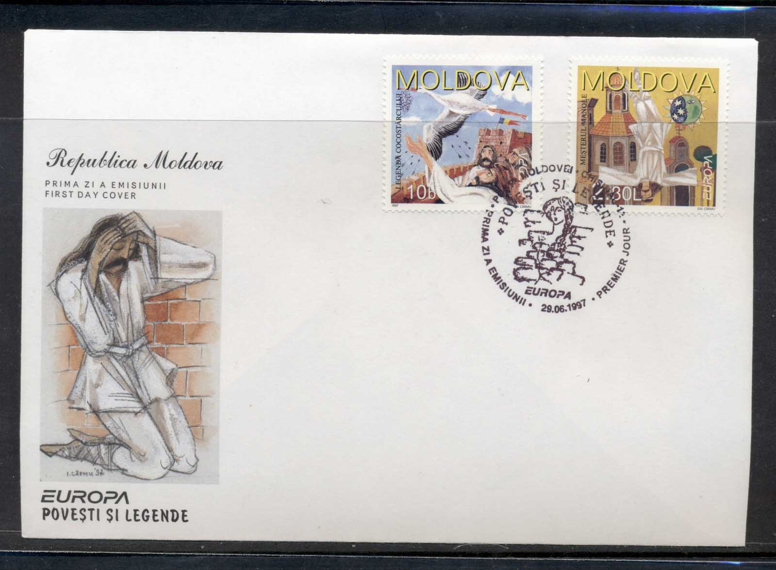 Moldova 1997 Europa Myths & legends FDC