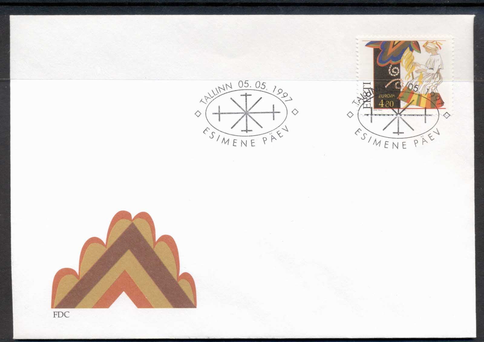 Estonia 1997 Europa Myths & legends FDC