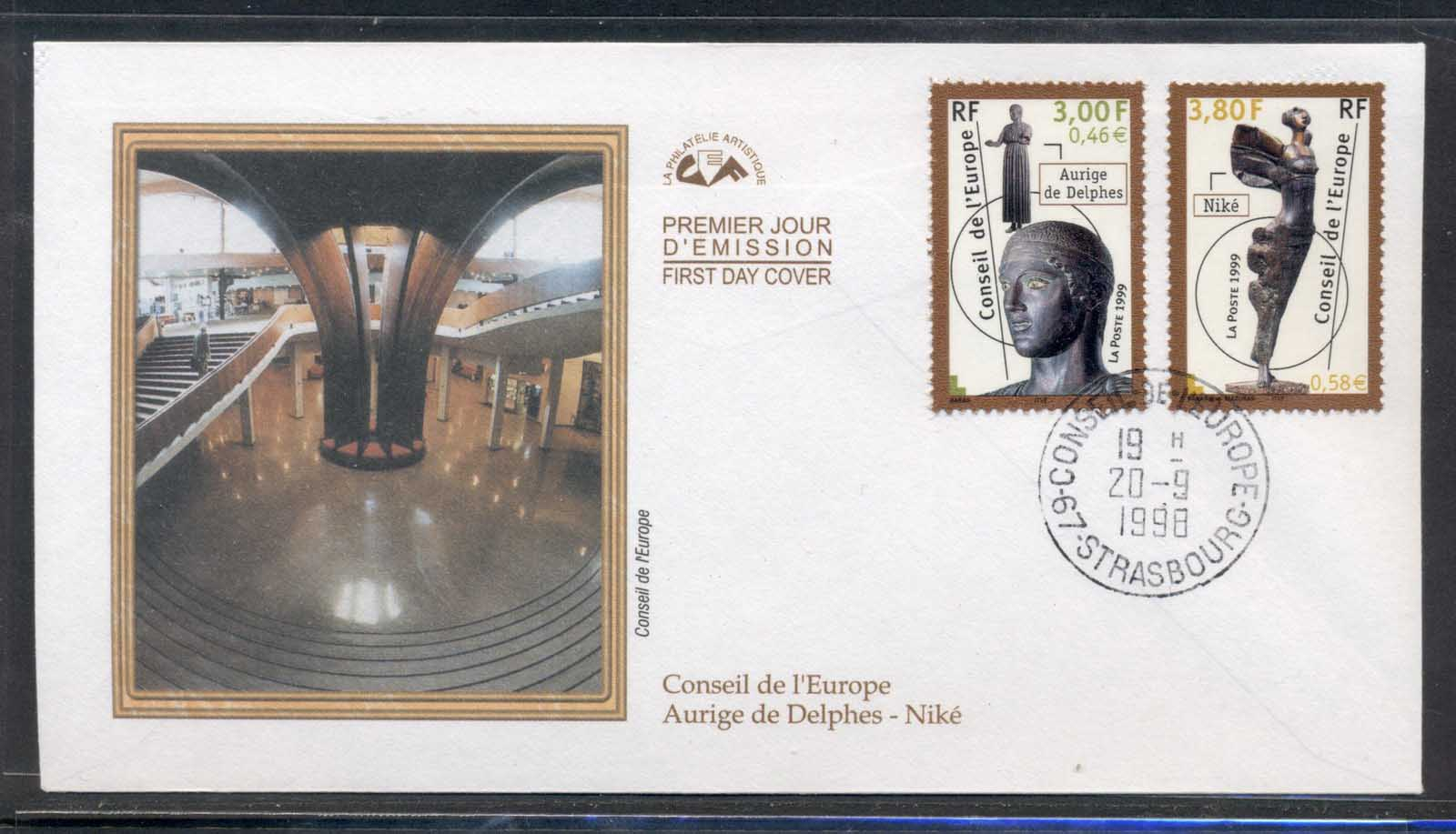 France 1998 Council of Europe FDC