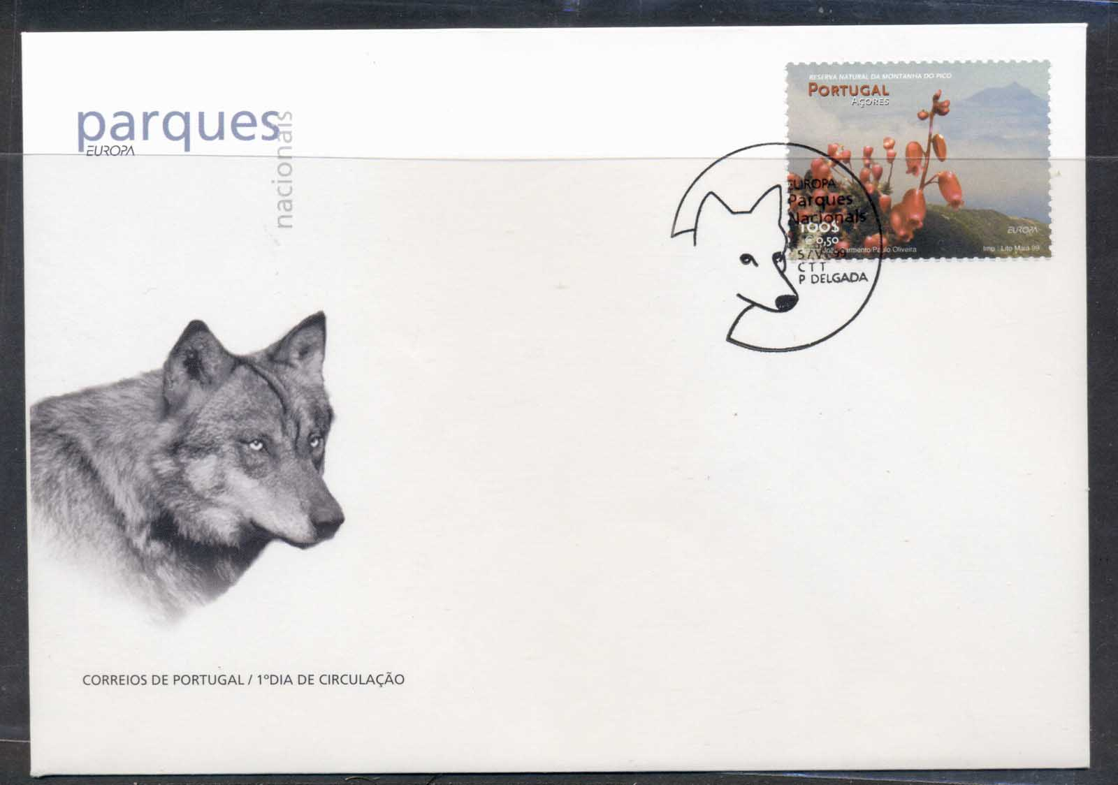 Azores 1999 Europa Nature Parks FDC