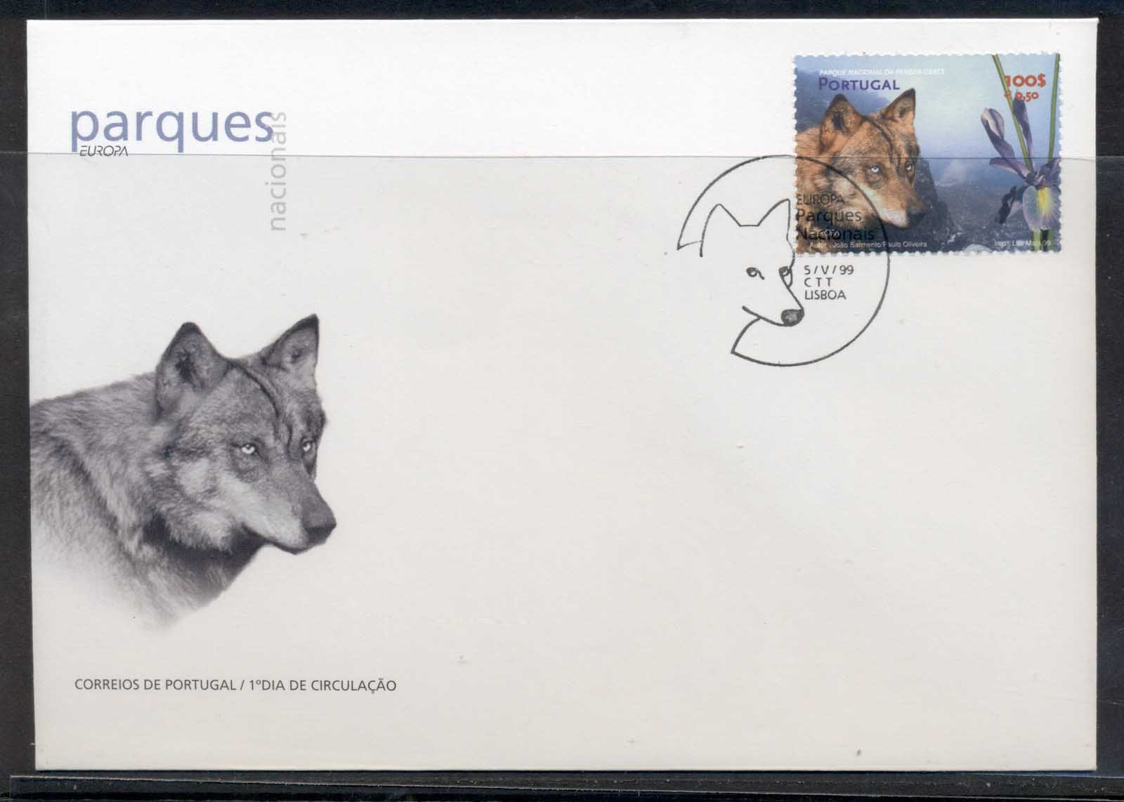Portugal 1999 Europa Nature Parks FDC