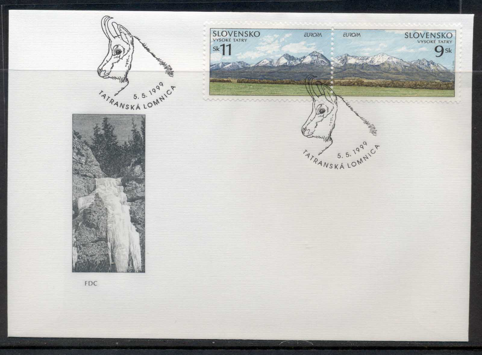 Slovenia 1999 Europa Nature Parks FDC - Click Image to Close