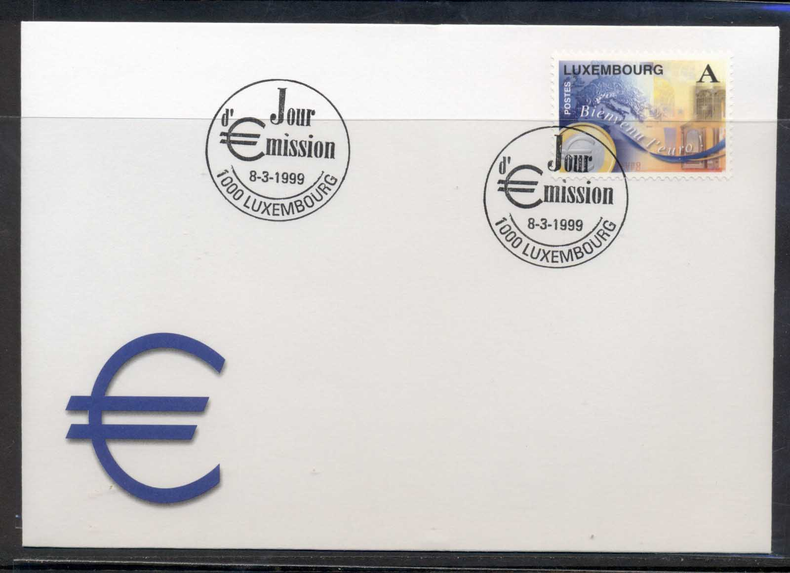 Luxembourg 1999 Introduction of the Euro FDC