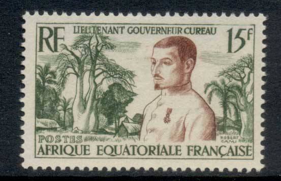 French Equitorial Africa 1954 Governor Cyreau MLH