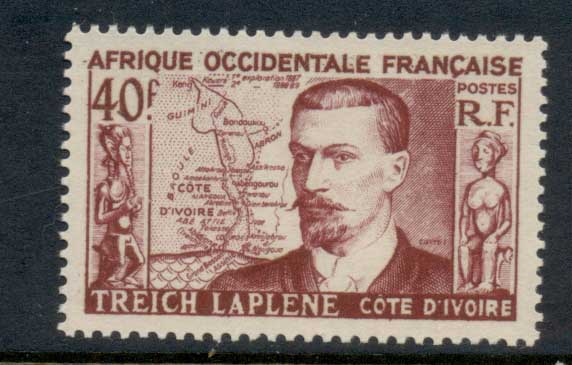 French West Africa 1952 Treich Laplene MLH