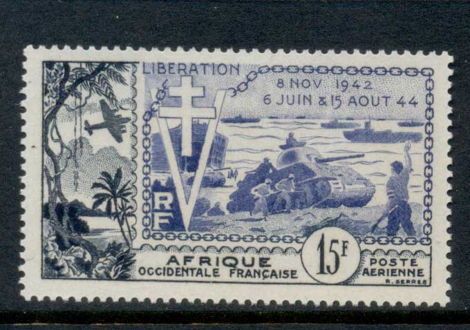 French West Africa 1946 Liberation MLH