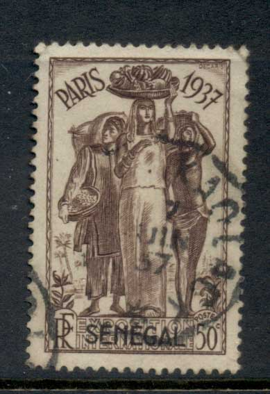Senegal 1937 Paris International Exposition 50c FU