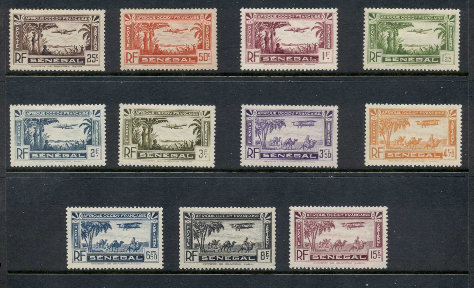Senegal 1935 Air Mail MLH