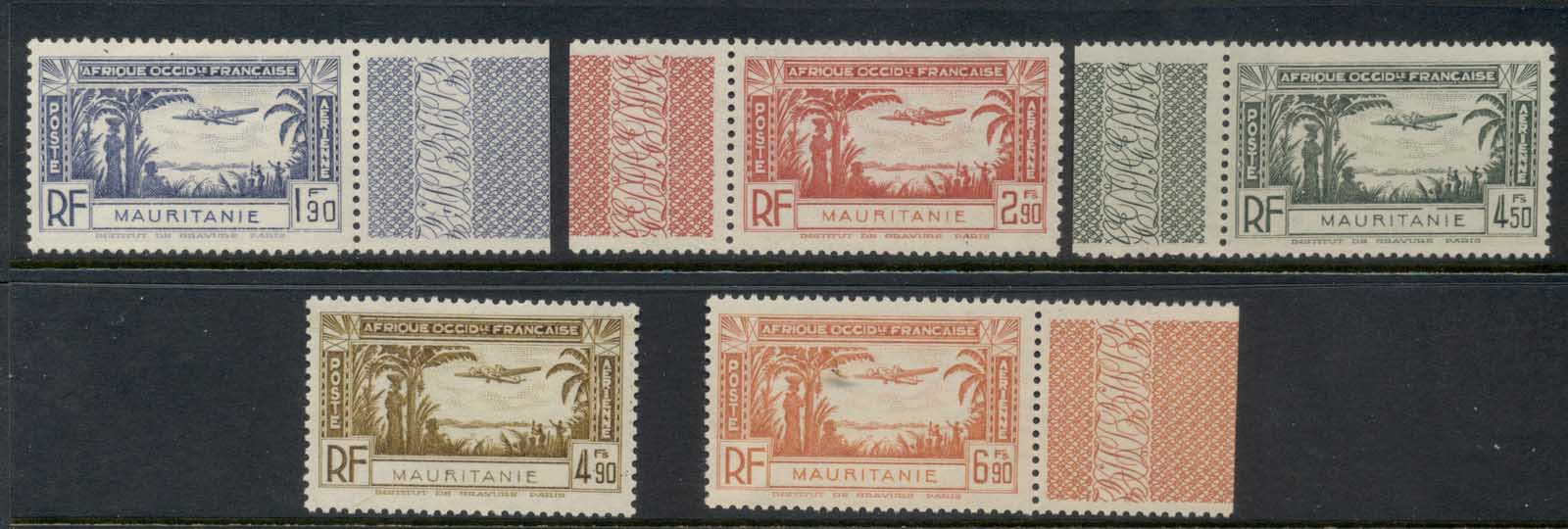 Mauritania 1940 Air Mail MLH