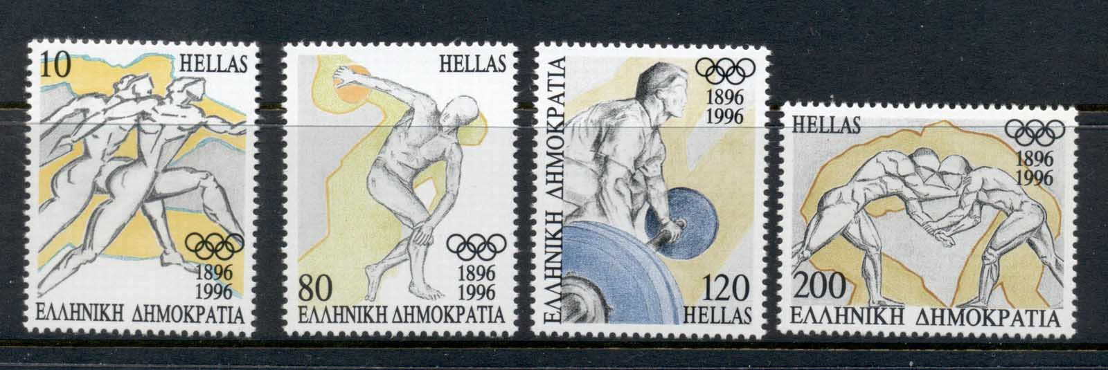 Greece 1996 Modern Olympic Games Centenary MUH
