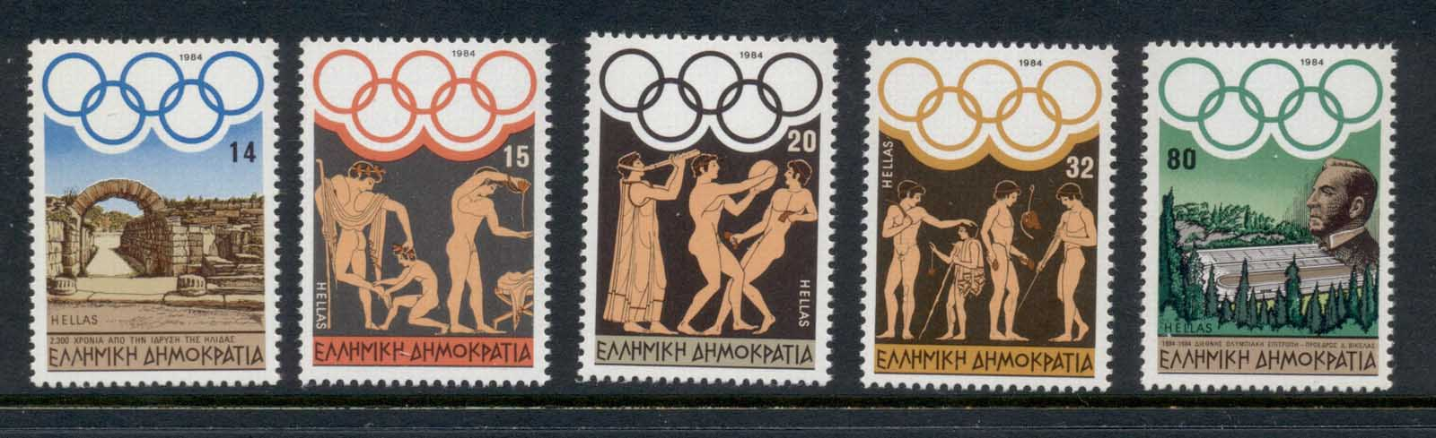 Greece 1984 Summer Olympics MUH