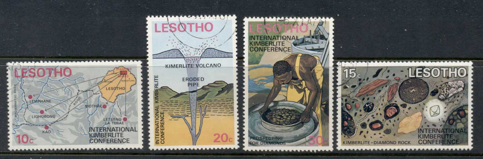 Lesotho 1973 International Kimberlite Conference FU
