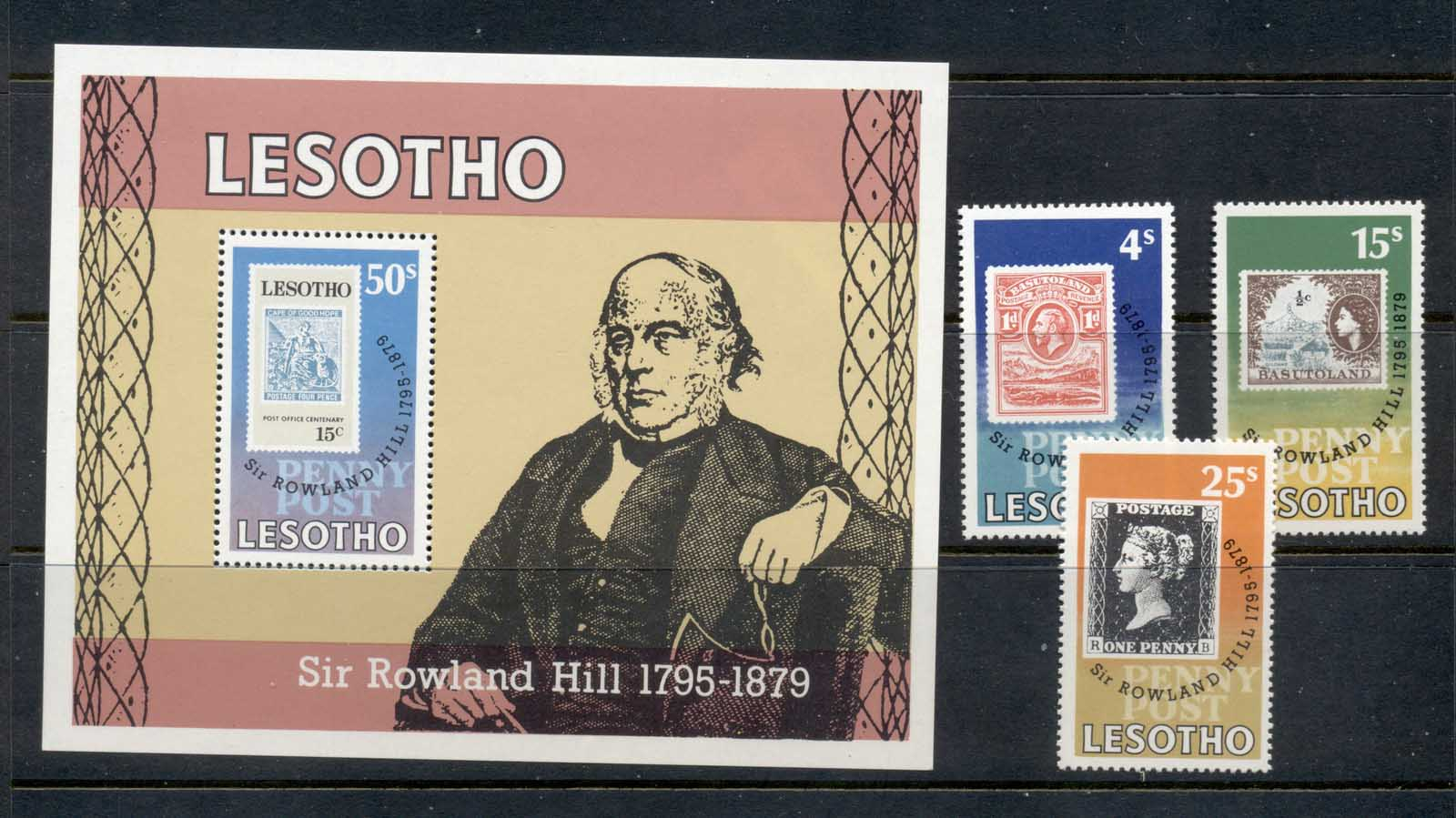 Lesotho 1979 Rowland Hill + MS MUH