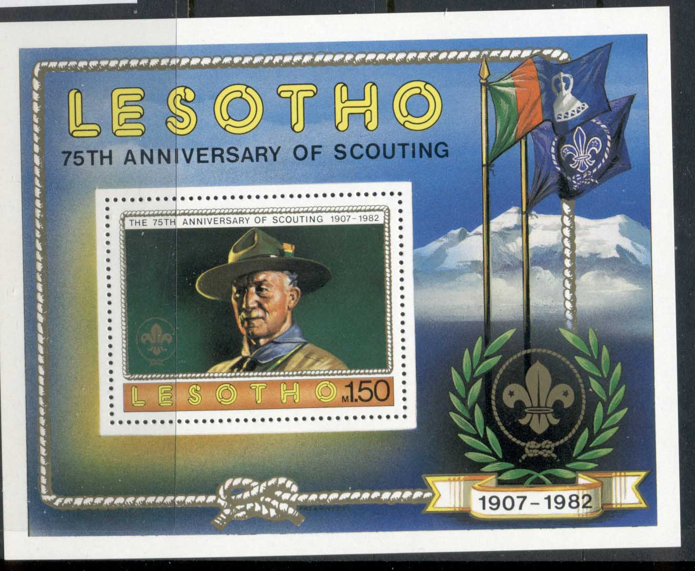 Lesotho 1981 Scouting Year MS MUH