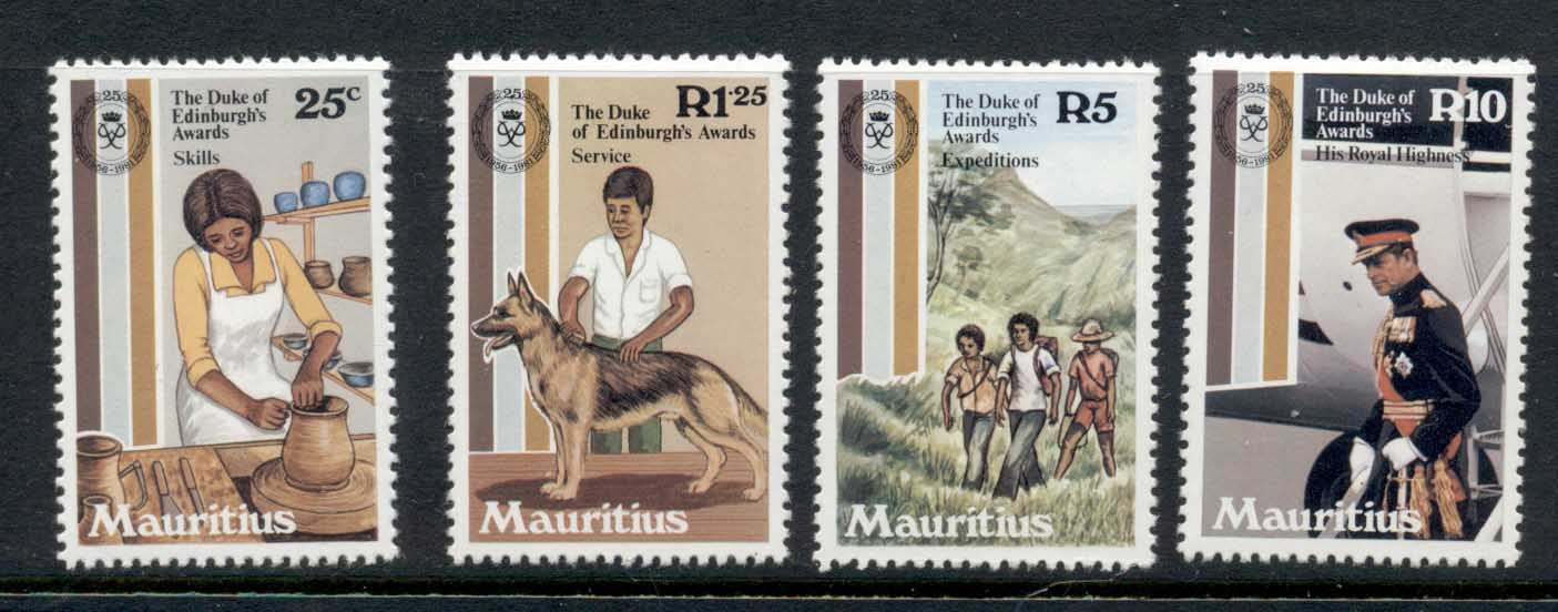 Mauritius 1981 Duke of Edinburgh Awards MUH