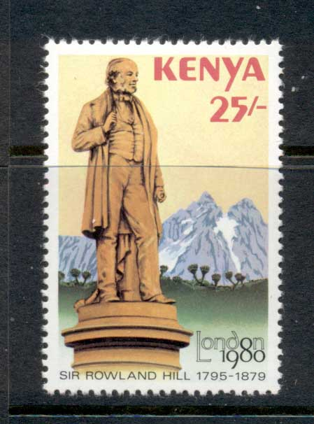 Kenya 1979 Sir Rowland Hill Death Centenary, London '80 MUH