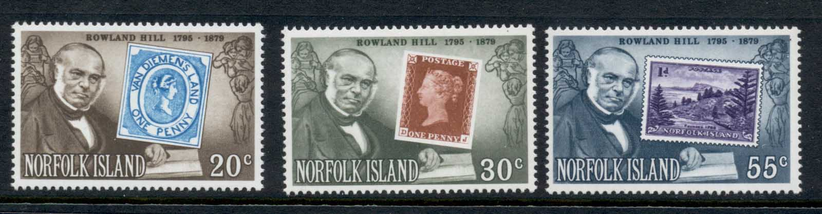Norfolk Is 1979 Sir Rowland Hill Death Centenary MUH