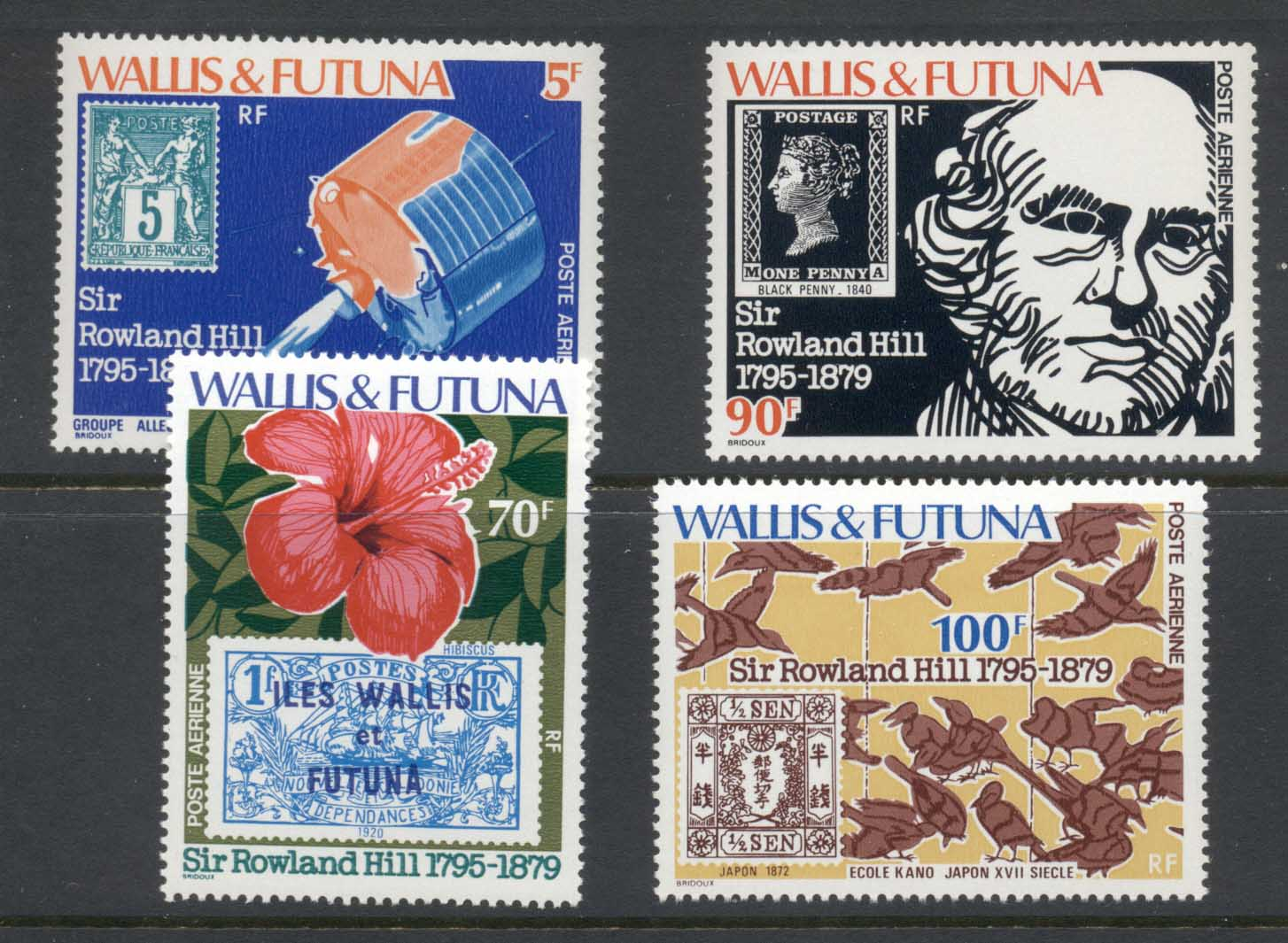 Wallis & Futuna 1979 Sir Rowland Hill Death Centenary MUH