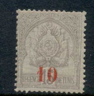Tunisia 1908 Surcharge 10c on 15c MLH