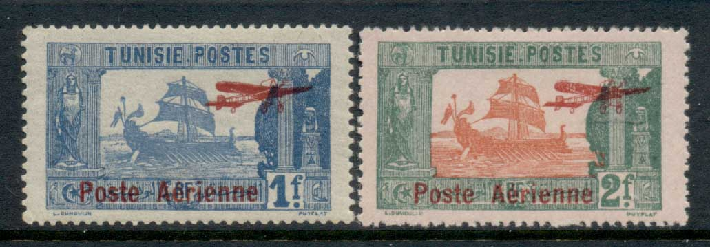 Tunisia 1927 Airpost Opt MLH
