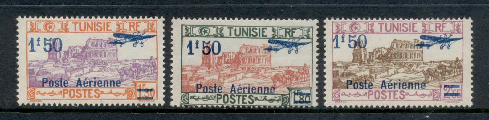 Tunisia 1930 Airpost Opt. Surch. MLH