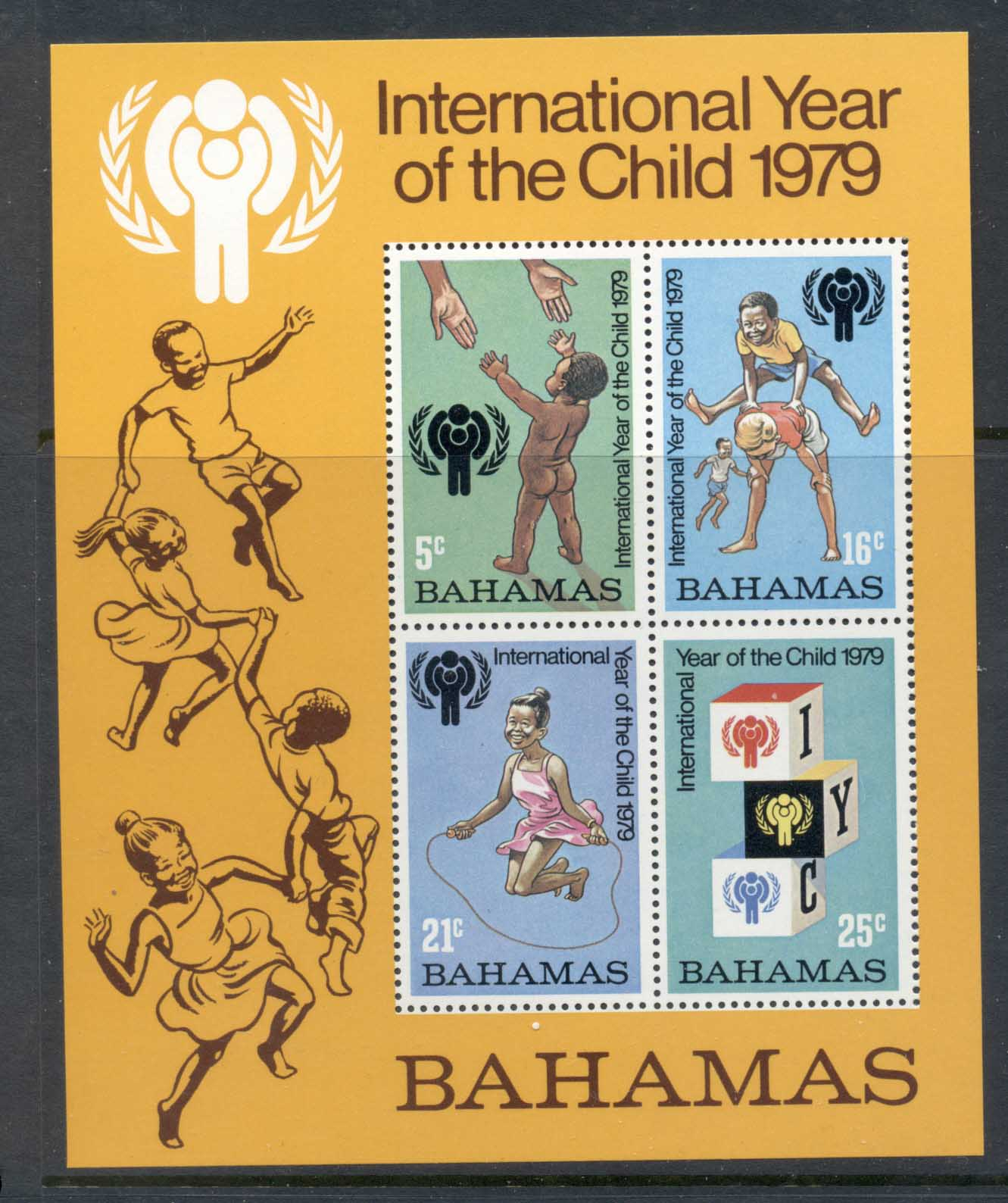 Bahamas 1979 IYC International year of the Child MS MUH