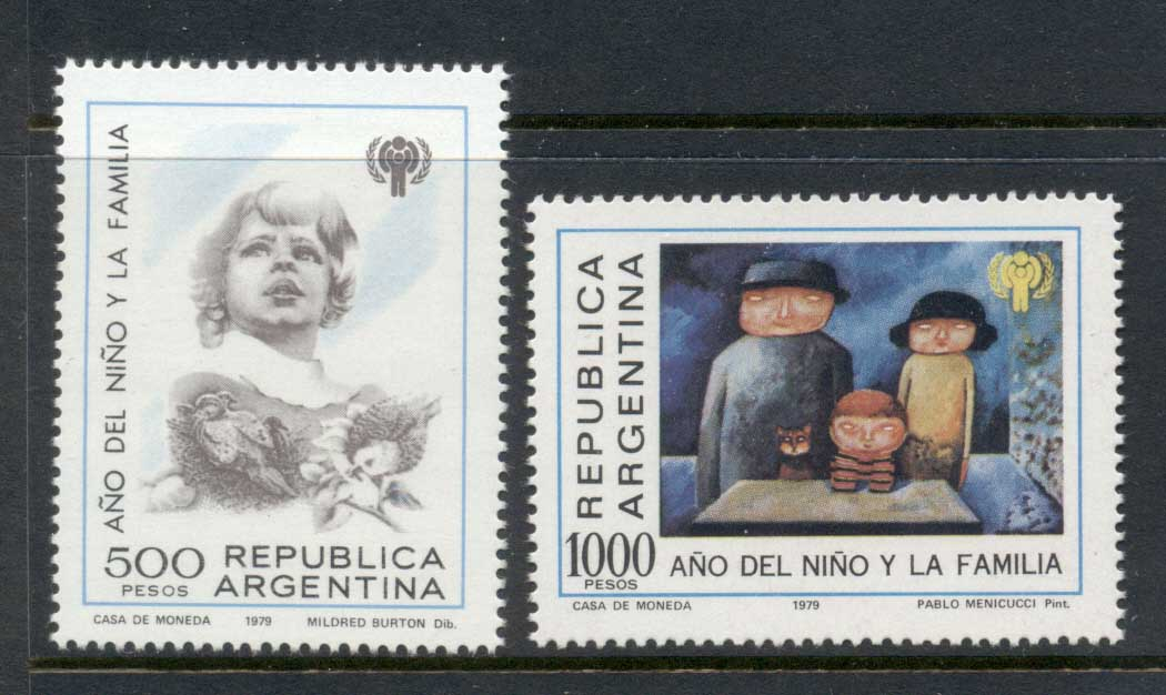 Argentina 1979 IYC International year of the Child MUH