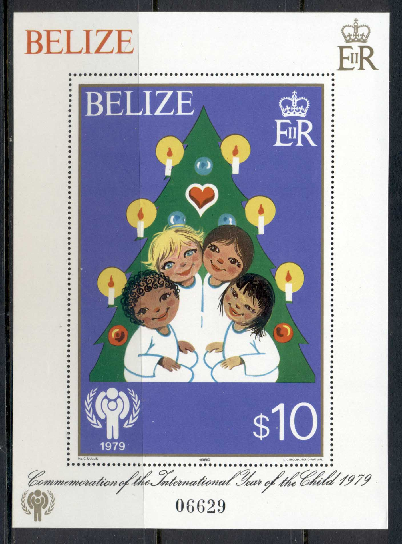 Belize 1979 IYC International year of the Child MS MUH