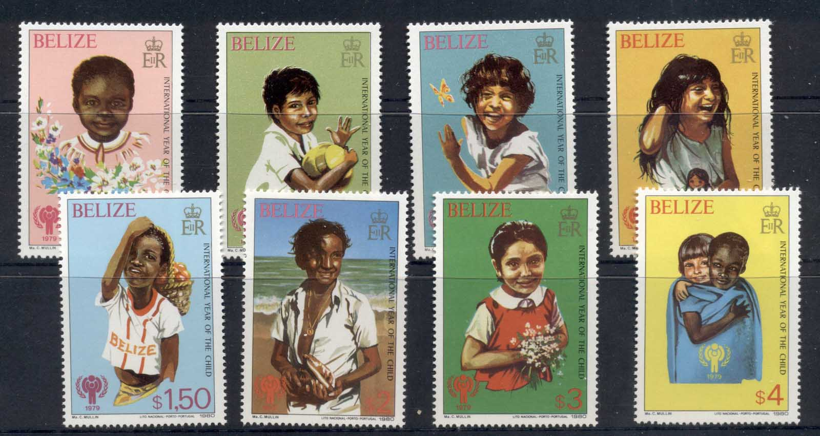 Belize 1979 IYC International year of the Child MUH