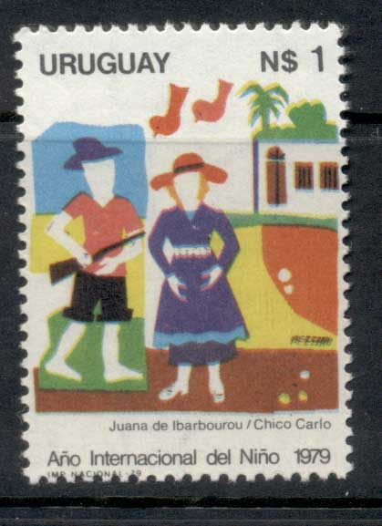 Uruguay 1979 IYC International year of the Child MUH