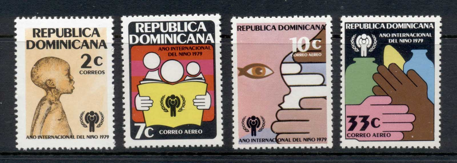 Dominican Republic 1979 IYC International year of the Child MUH