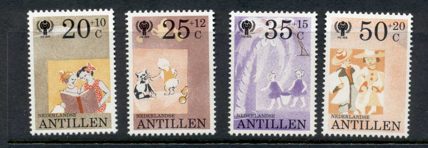 Netherlands Antilles 1979 IYC International year of the Child MUH