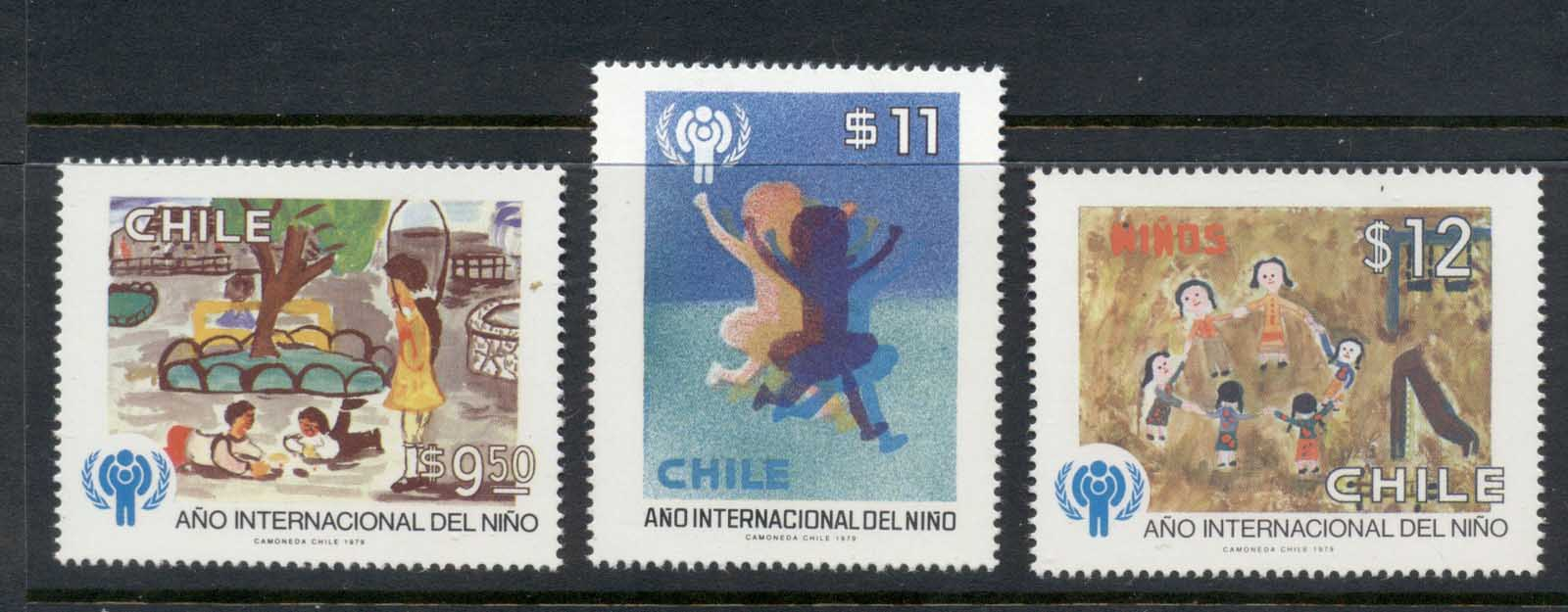 Chile 1979 IYC International year of the Child MUH