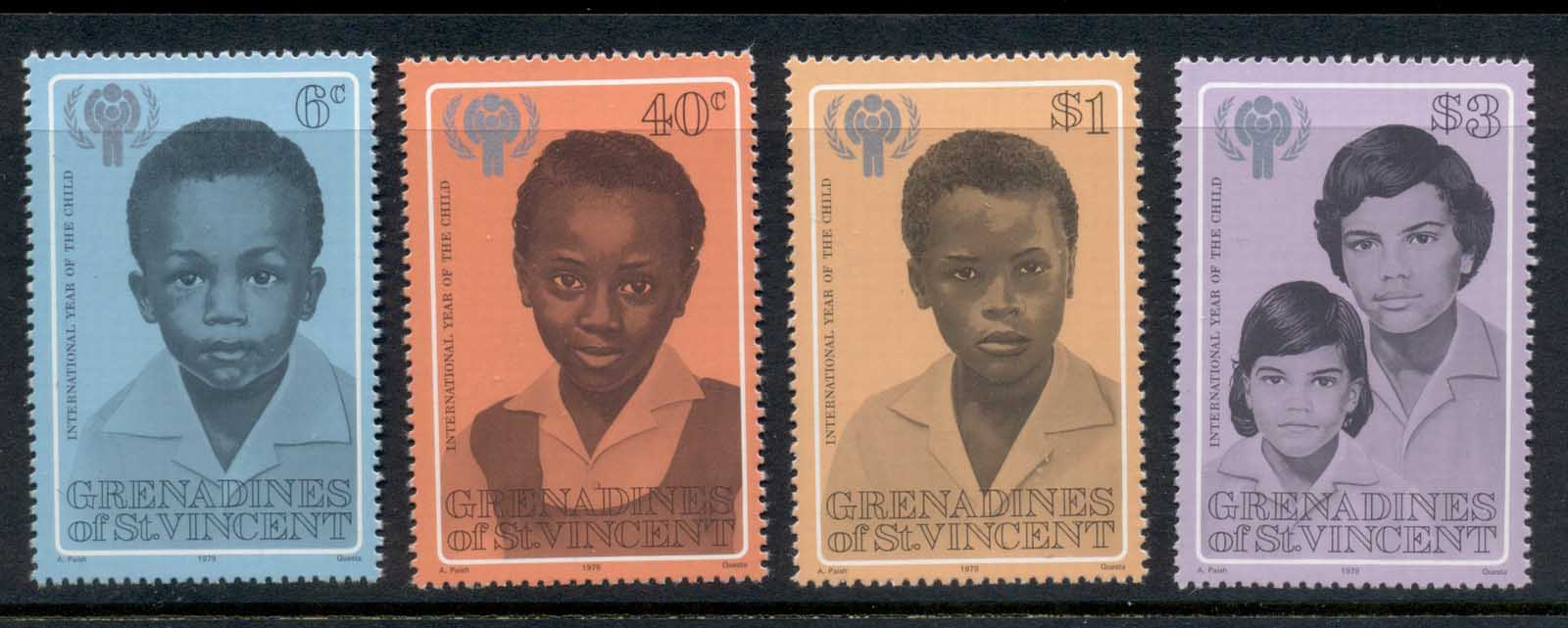 St Vincent Grenadines 1979 IYC International year of the Child MUH