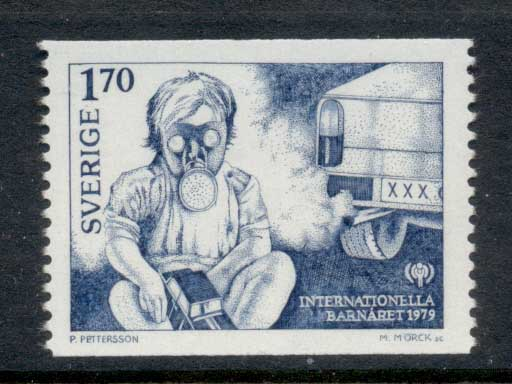 Sweden 1979 IYC International year of the Child MUH