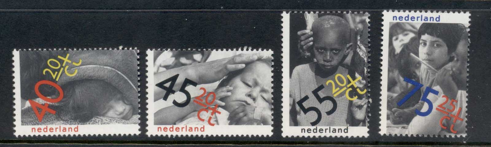 Netherlands 1979 IYC International year of the Child MUH