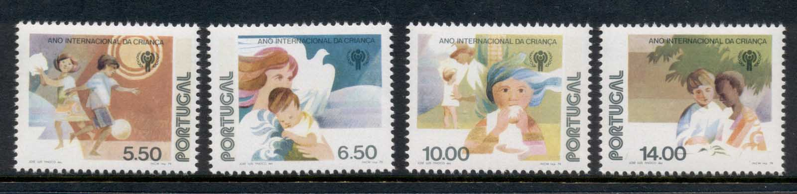Portugal 1979 IYC International year of the Child MUH