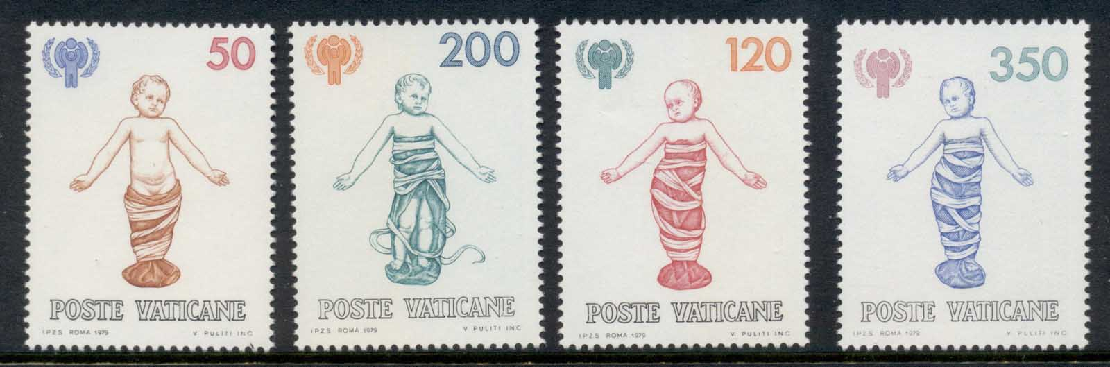 Vatican 1979 IYC International year of the Child MUH