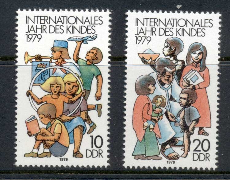 Germany DDR 1979 IYC International year of the Child MUH
