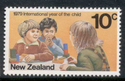 New Zealand 1979 IYC International year of the Child MUH