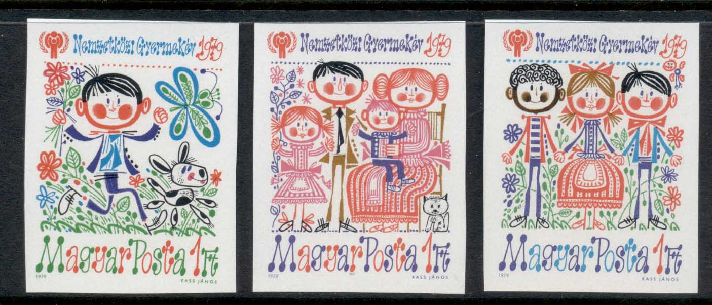 Hungary 1979 IYC International year of the Child IMPERF MUH