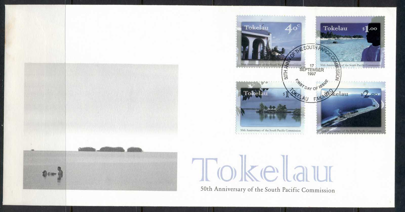 Tokelau 1997 South Pacific Commission FDc