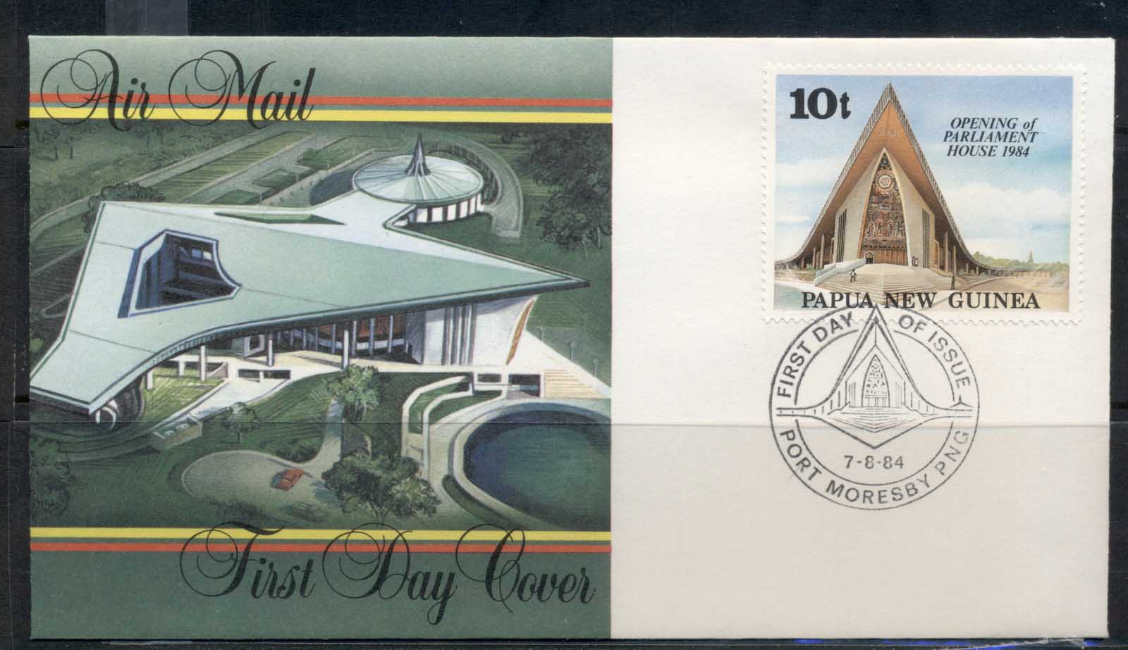 PNG 1984 Opening of Parliament House FDC
