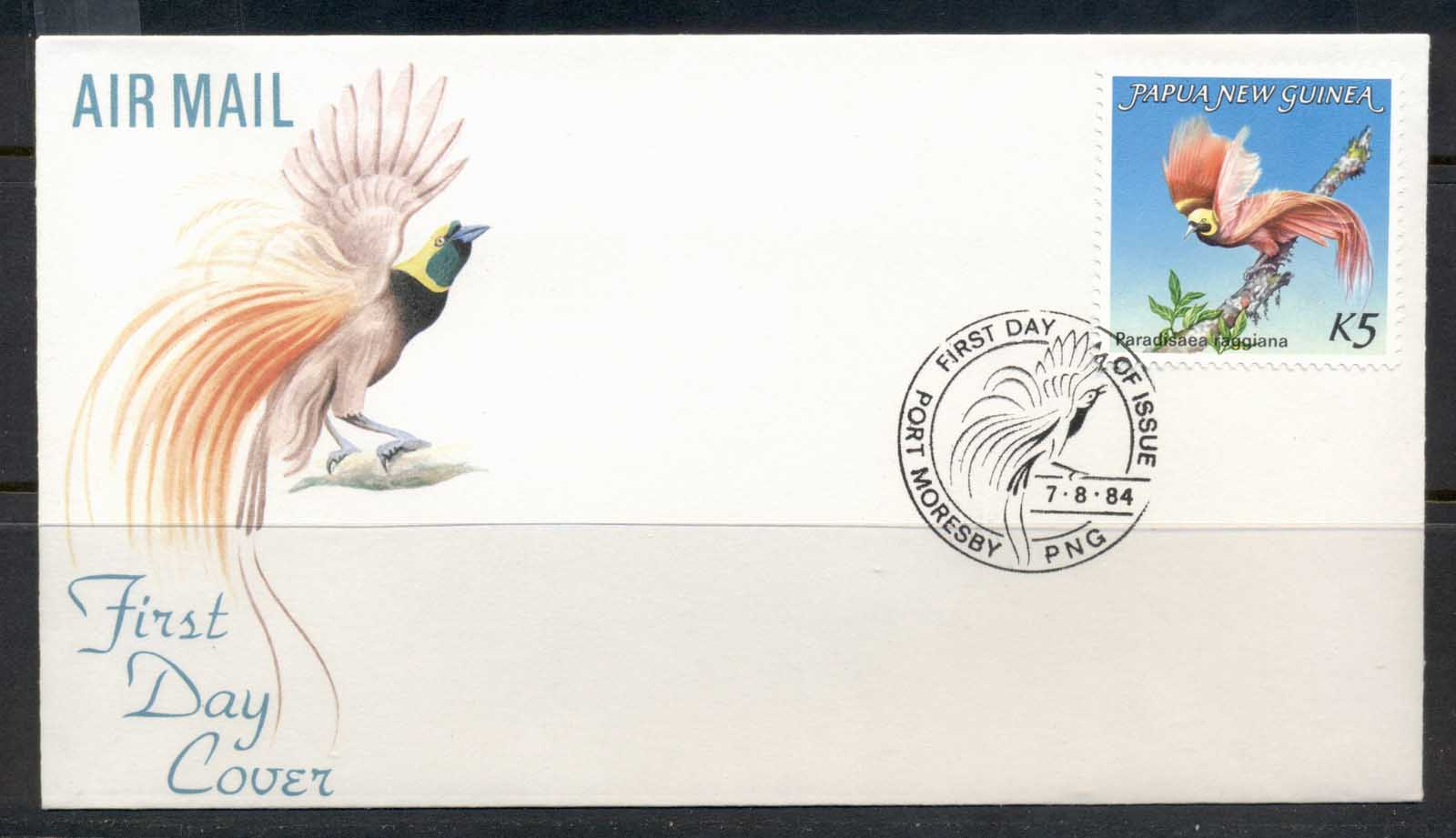 PNG 1984 Bird of Paradise 5k FDC